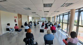 Reunión de trabajo del Observatorio Provincial de Igualdad en las Relaciones Laborales en la delegación de FEDA en Villarrobledo
